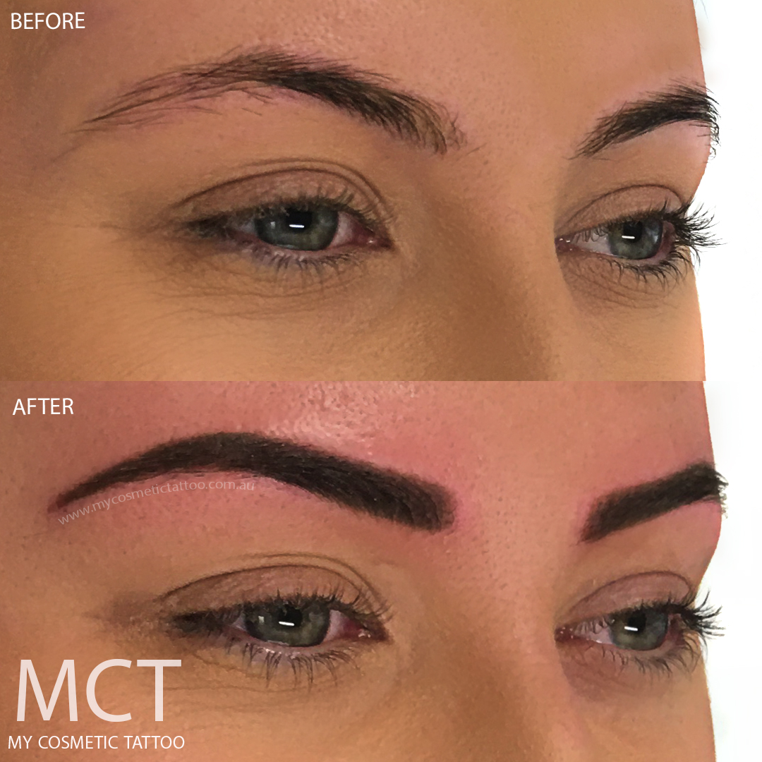 powder finish eyebrow tattoo my cosmetic tattoo