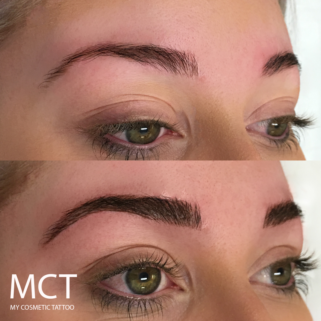Eyebrow Tattoo: Eyebrow Tattoo Feathering