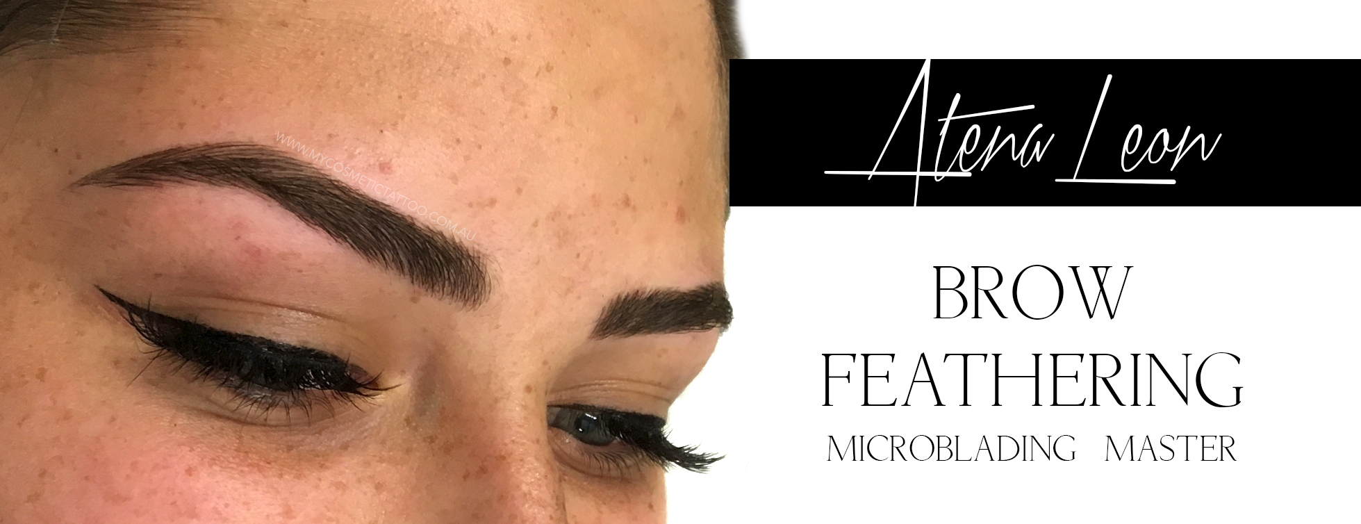 Brow Feathering by Atena Leon
